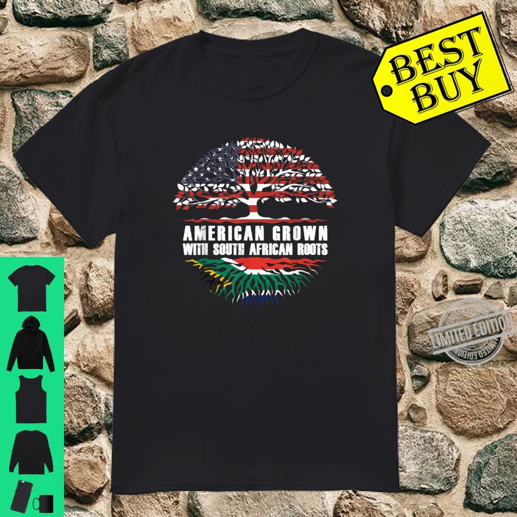 American Grown With South African Roots Shirt