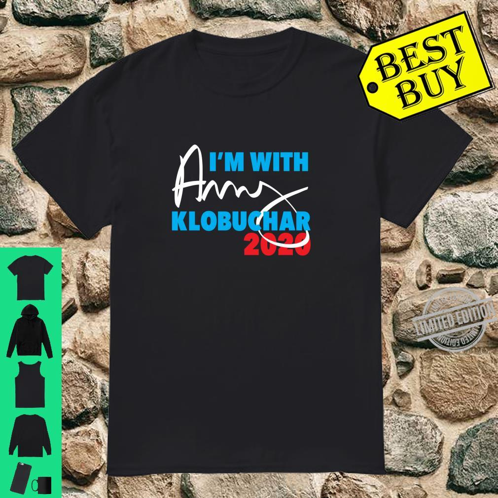 Amy Klobuchar 2020 I'm with Amy for President campaign Shirt