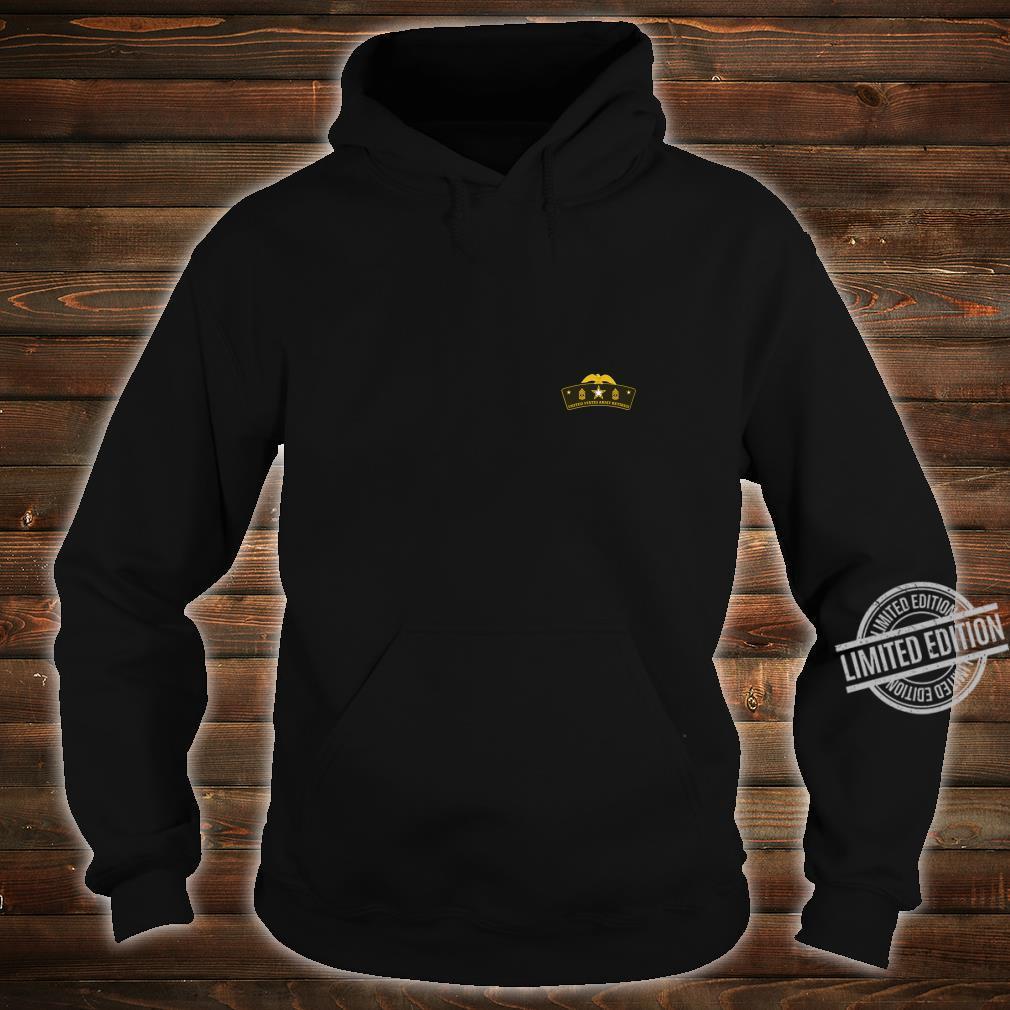 Army Retired First Sergeant Tab Shirt hoodie