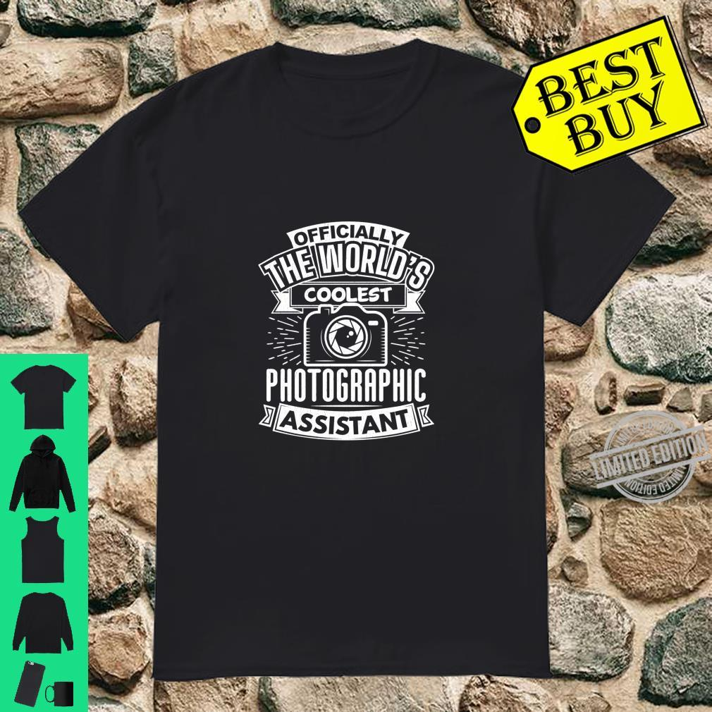 Assistant Photographer Photography Quote Shirt