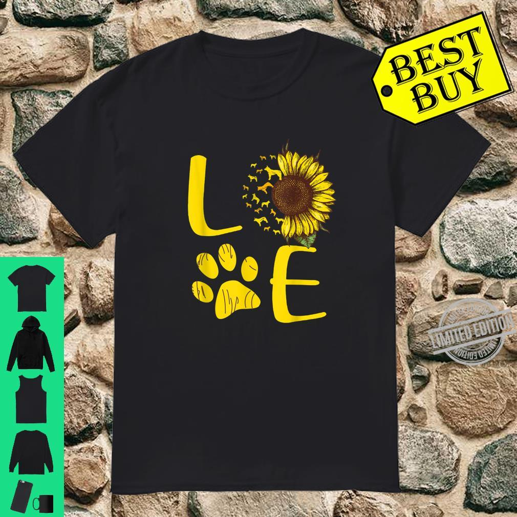 Australian Cattle Dog Sunflower Shirt
