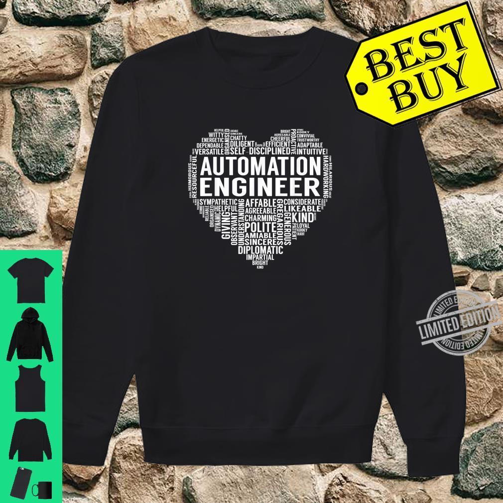 Automation Engineer Heart Shirt sweater