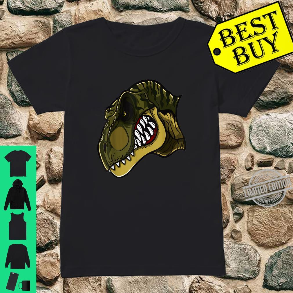 Awesome Prehistoric Dinosaur T Rex Tyrannosaurus Rex Dino Shirt ladies tee