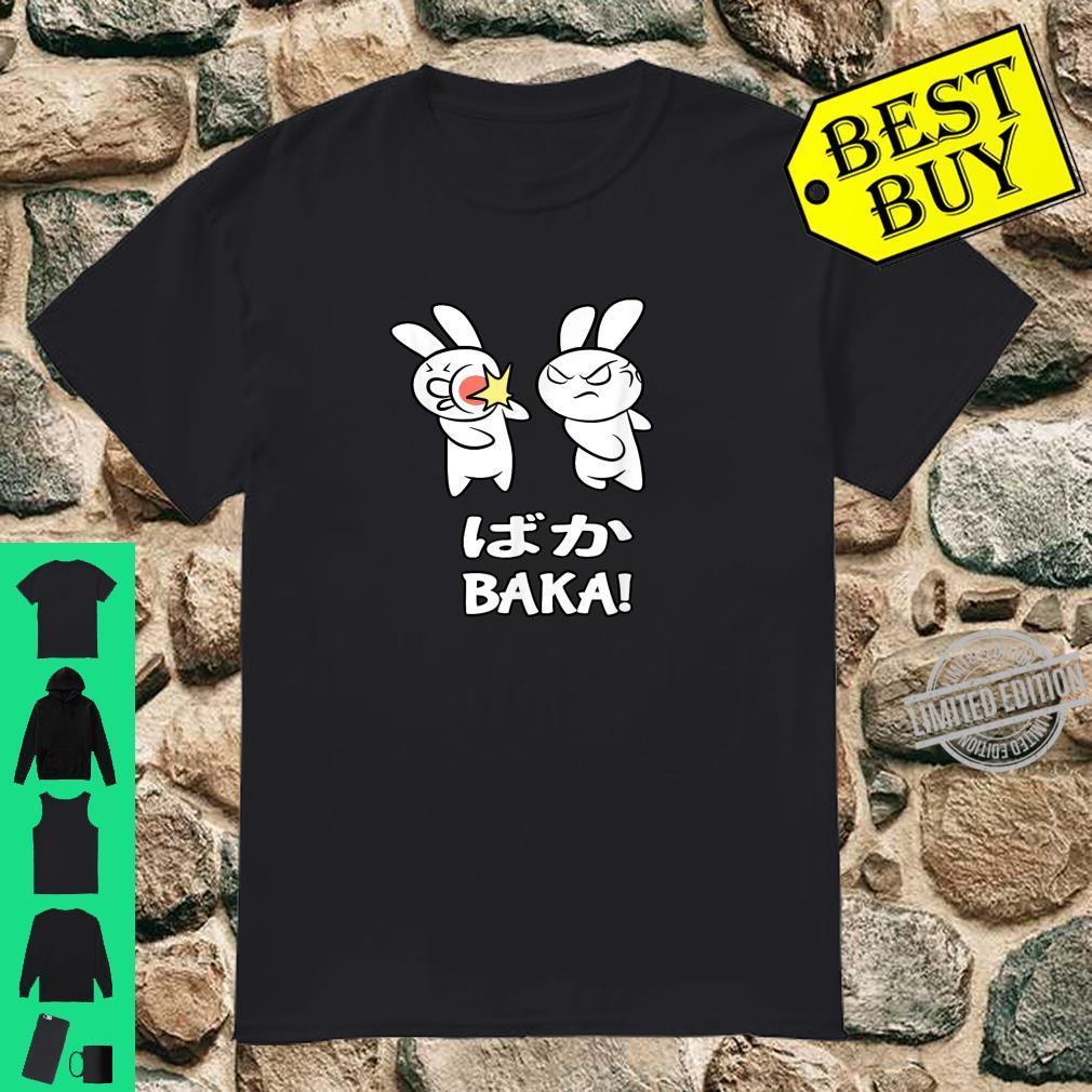 Baka Rabbit Slap Baka Cute Japanese Anime Manga Shirt