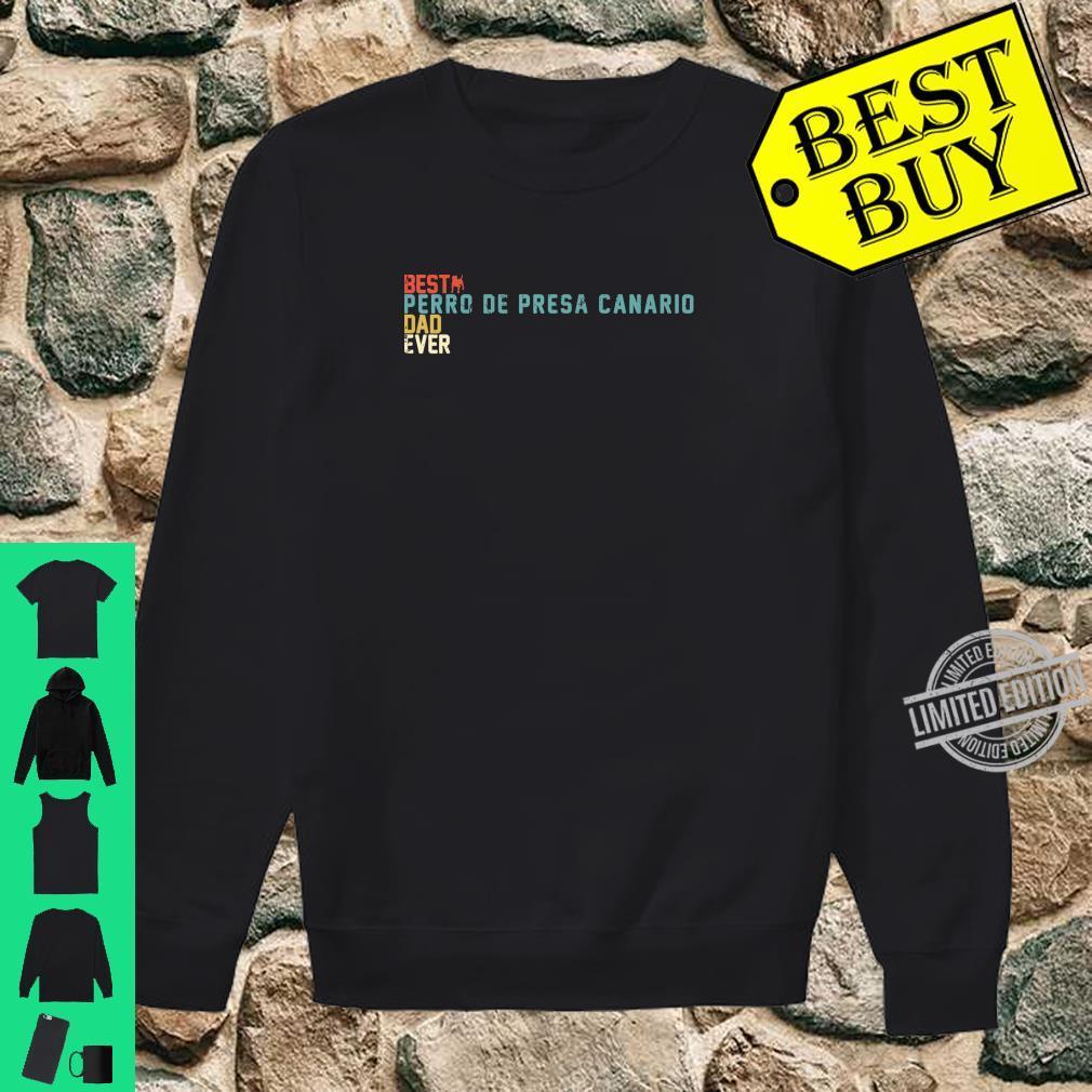 Best PERRO DE PRESA CANARIO Dad Ever Shirt, Retro Vintage Shirt sweater