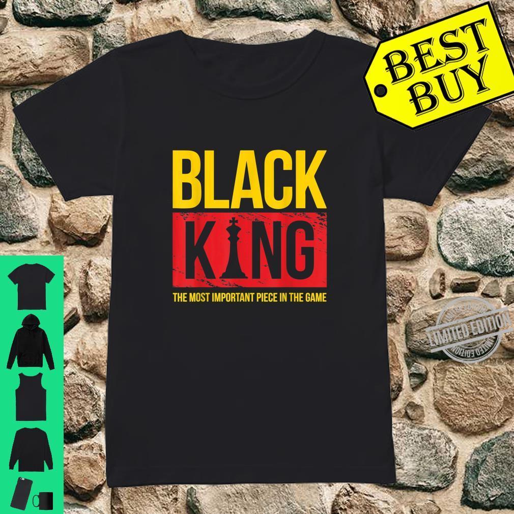 Black King Black History Month Shirt ladies tee