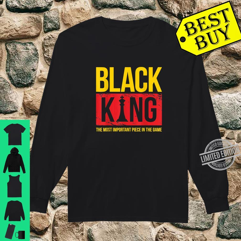Black King Black History Month Shirt long sleeved