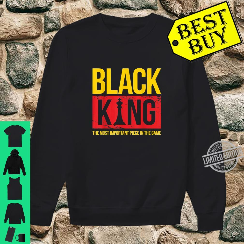 Black King Black History Month Shirt sweater