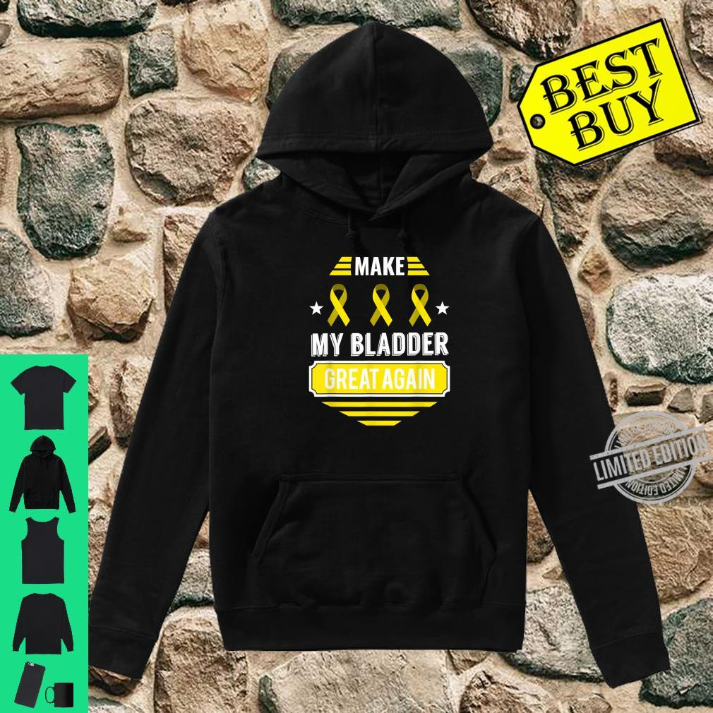 Bladder Tumor Survivor Cancer Awareness Bladder Cancer Shirt hoodie