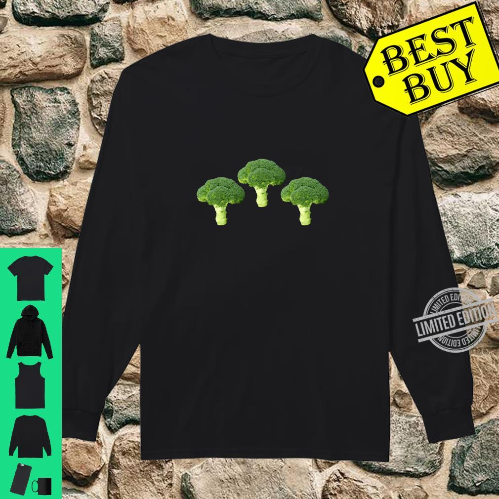 Broccoli Image School Health Class Vegetables Shirt long sleeved