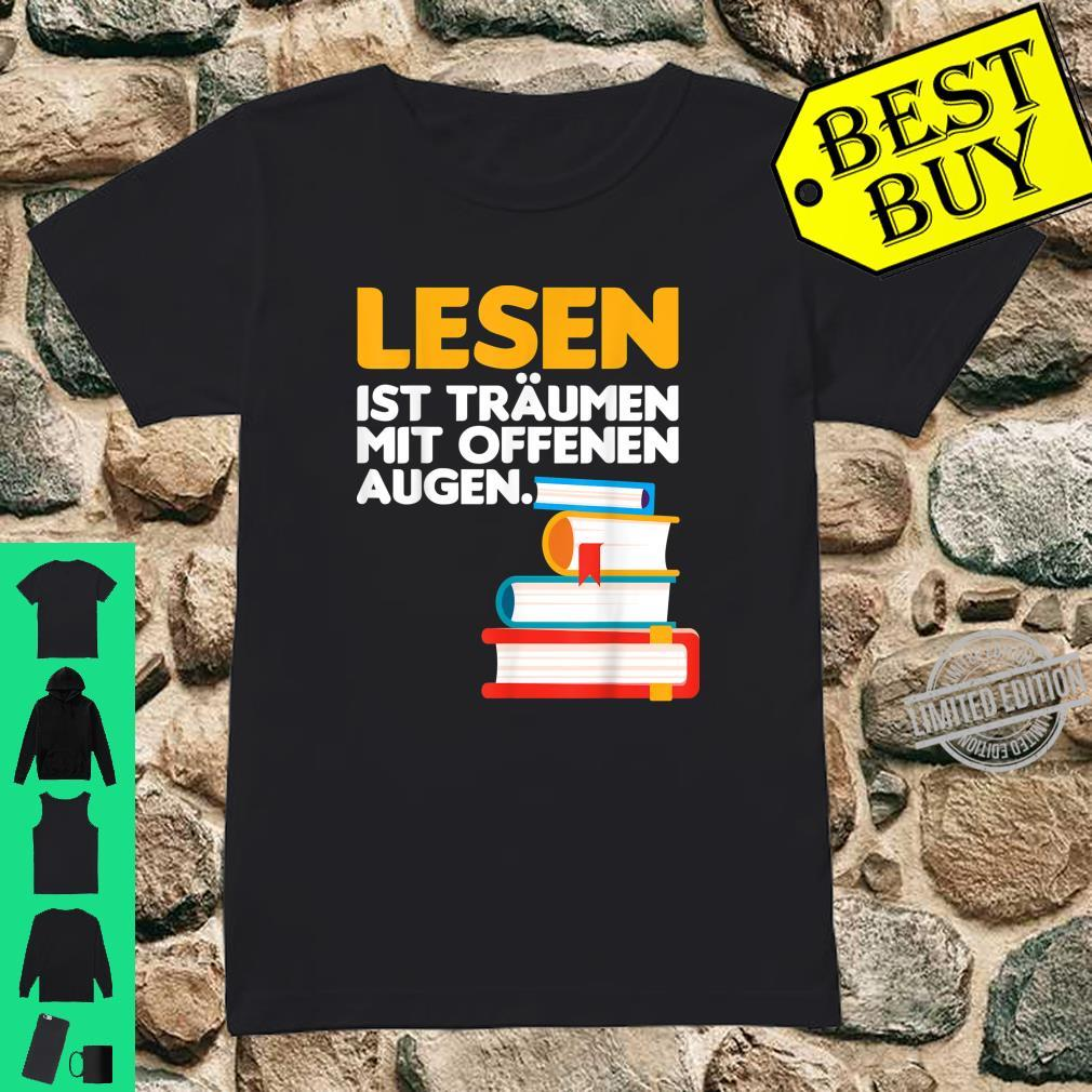 Buch lesen Bücher Leser Bücherwurm Geschenk Shirt ladies tee