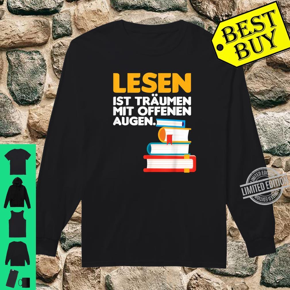Buch lesen Bücher Leser Bücherwurm Geschenk Shirt long sleeved