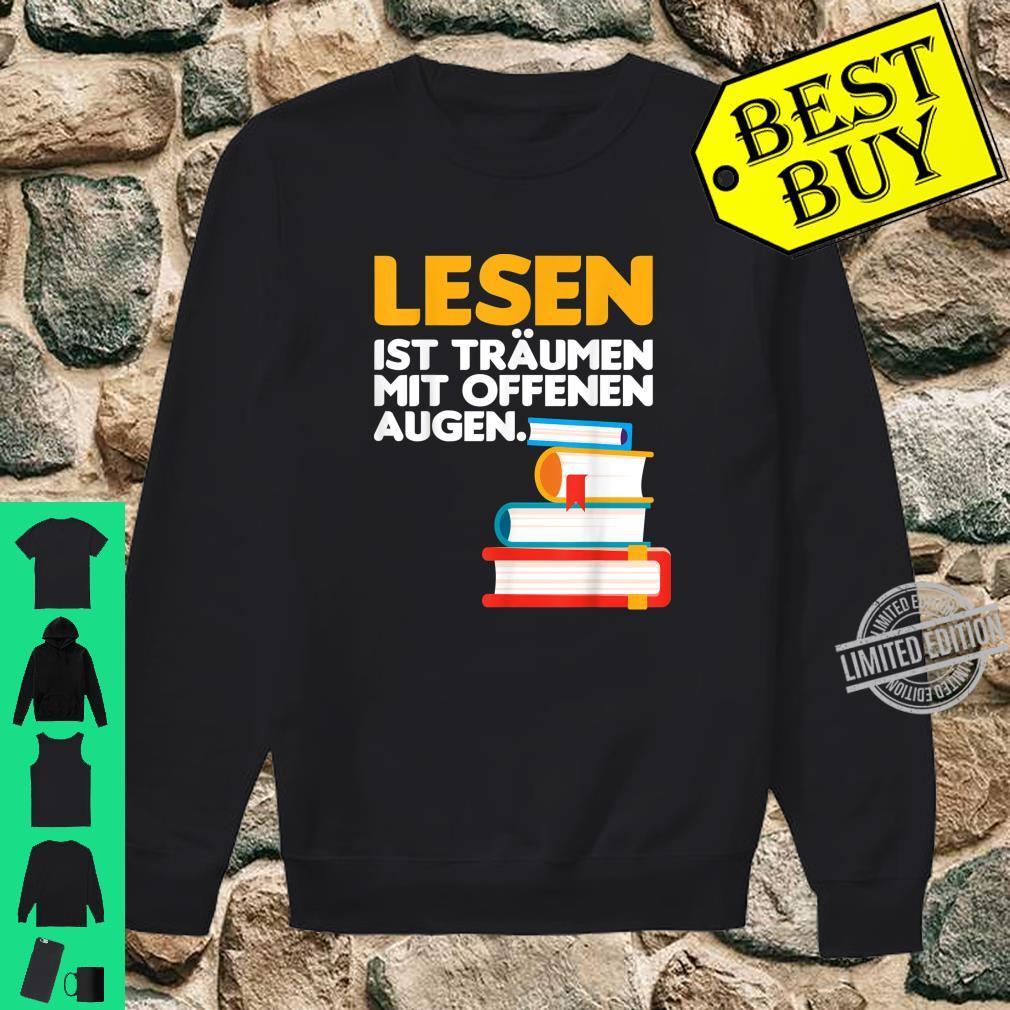 Buch lesen Bücher Leser Bücherwurm Geschenk Shirt sweater
