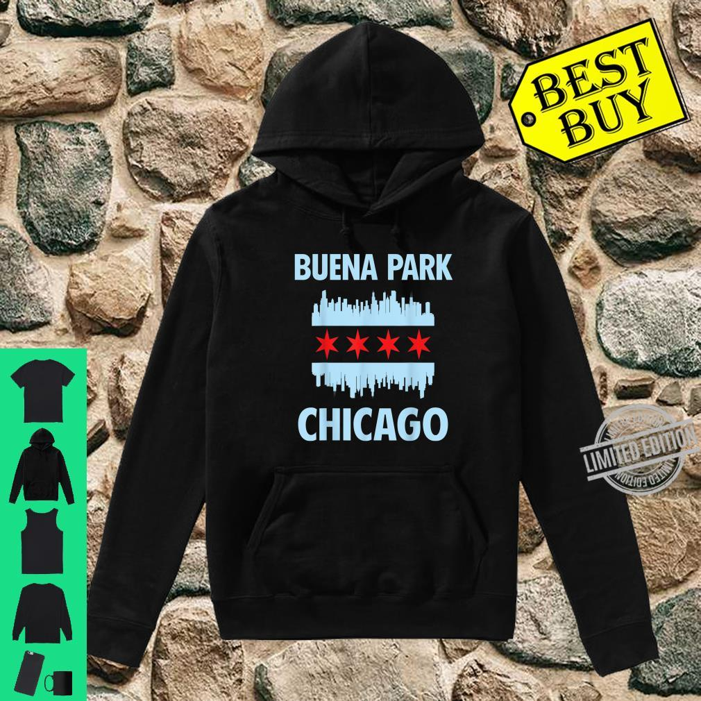 Buena Park Chicago Flag Skyline Shirt hoodie