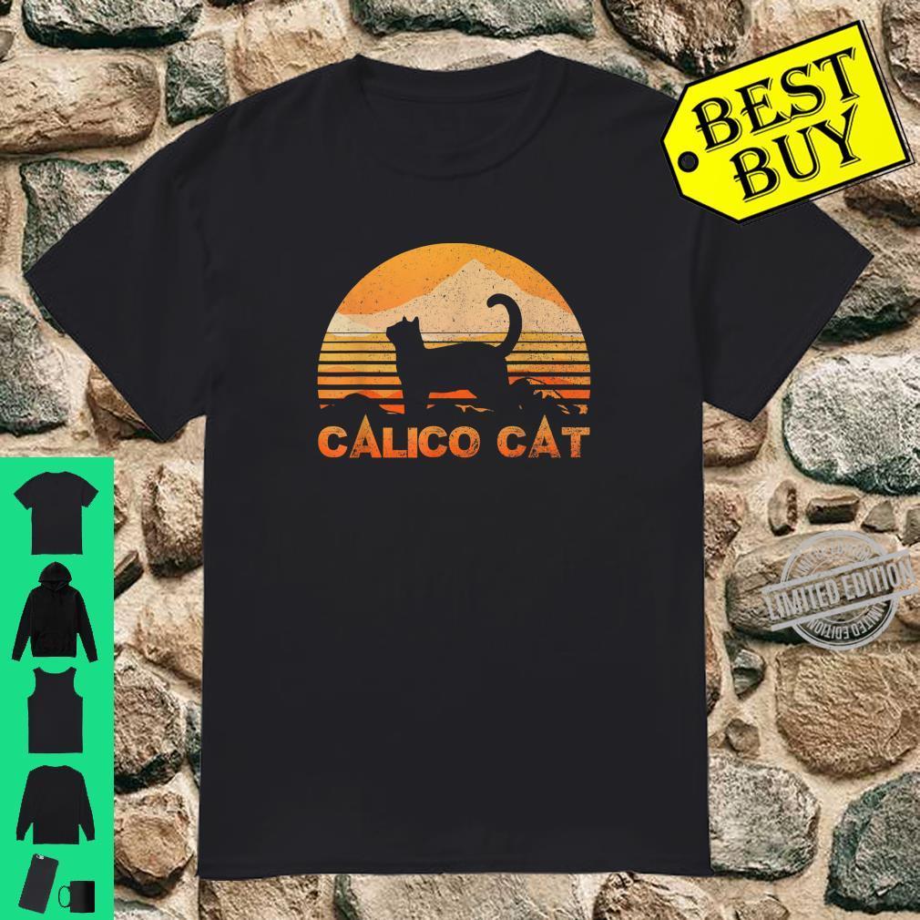 CALICO CAT Vintage Retro Shirt