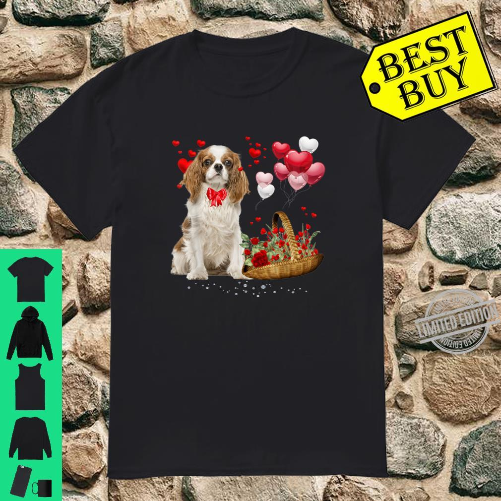 Cavalier King Charles Spaniel Valentines Day Dog Shirt