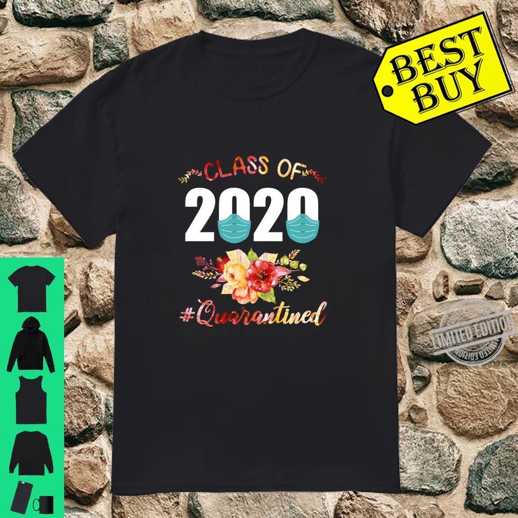 Class Of 2020 Quarantined College Graduation Shirt