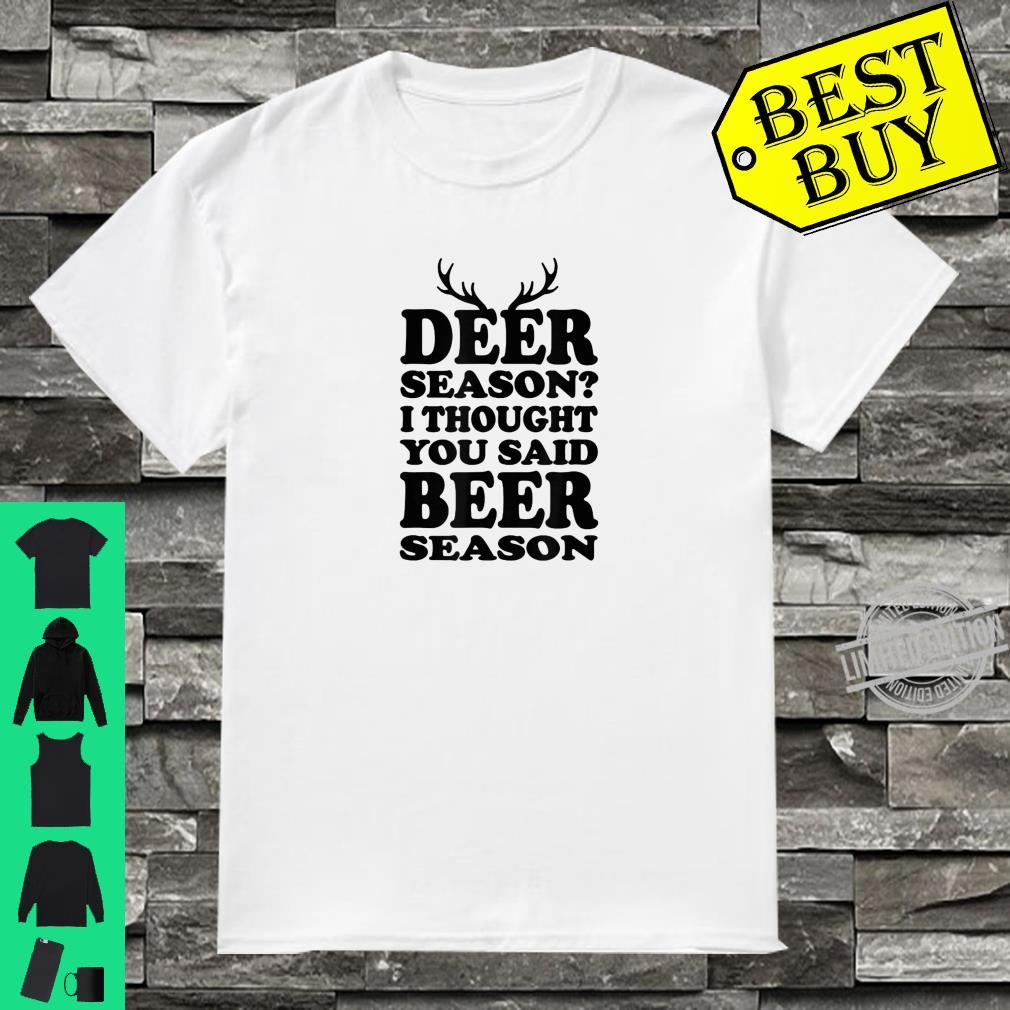 Cool BEER SEASON Shirt