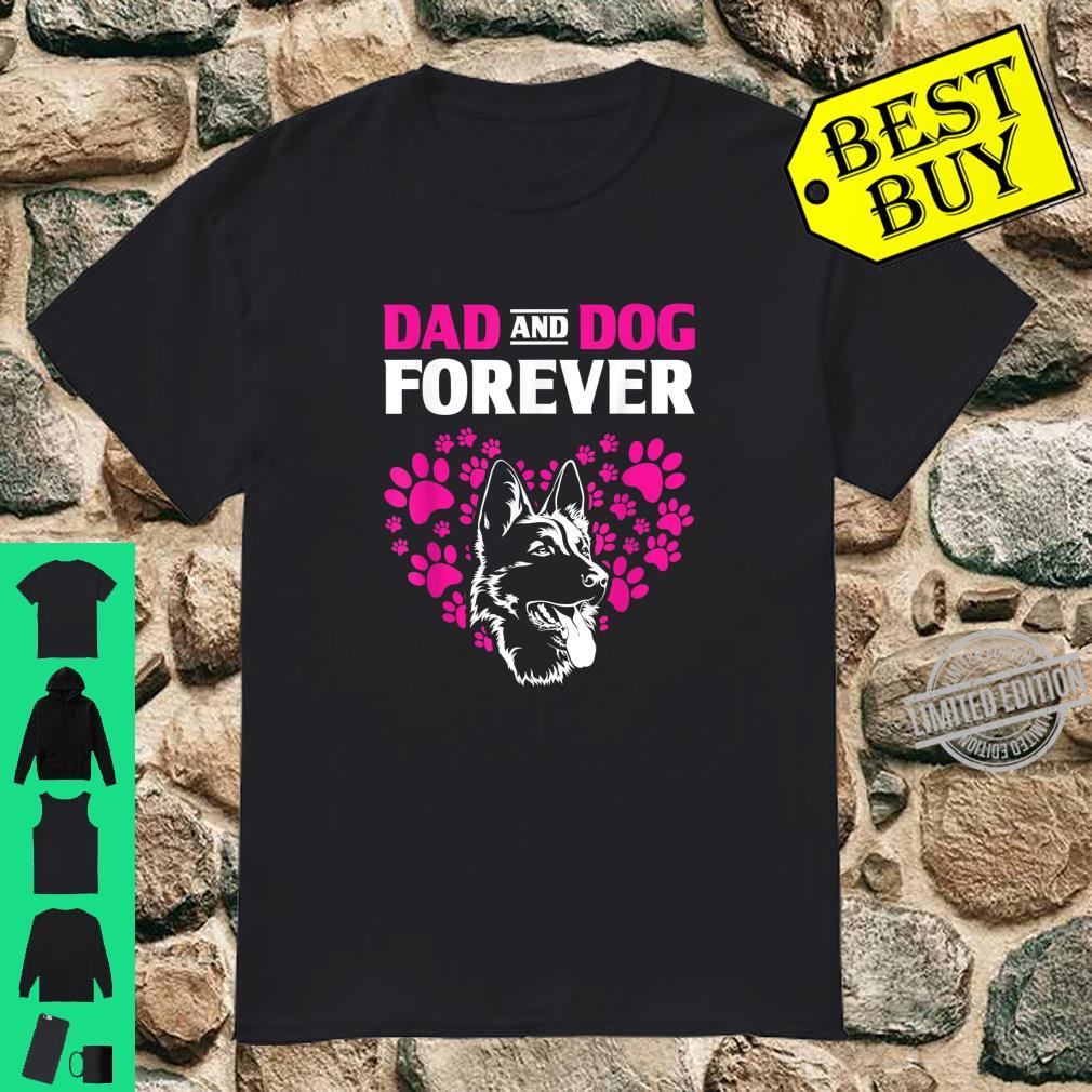 Dog Dad Forever German Shepherd Shirt