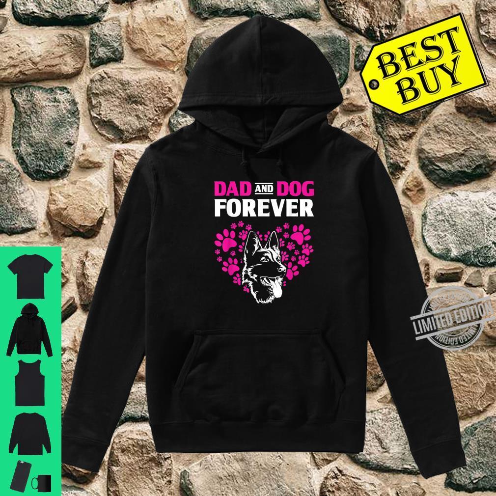 Dog Dad Forever German Shepherd Shirt hoodie
