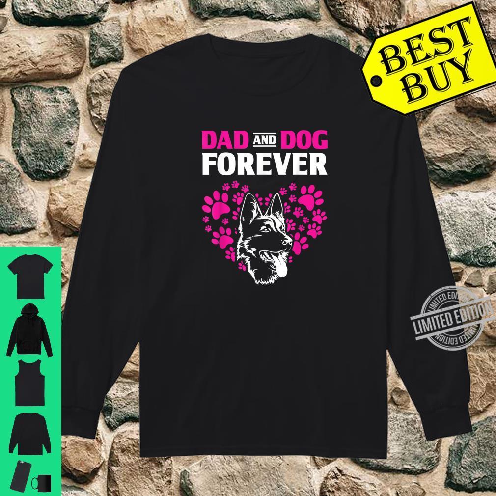 Dog Dad Forever German Shepherd Shirt long sleeved