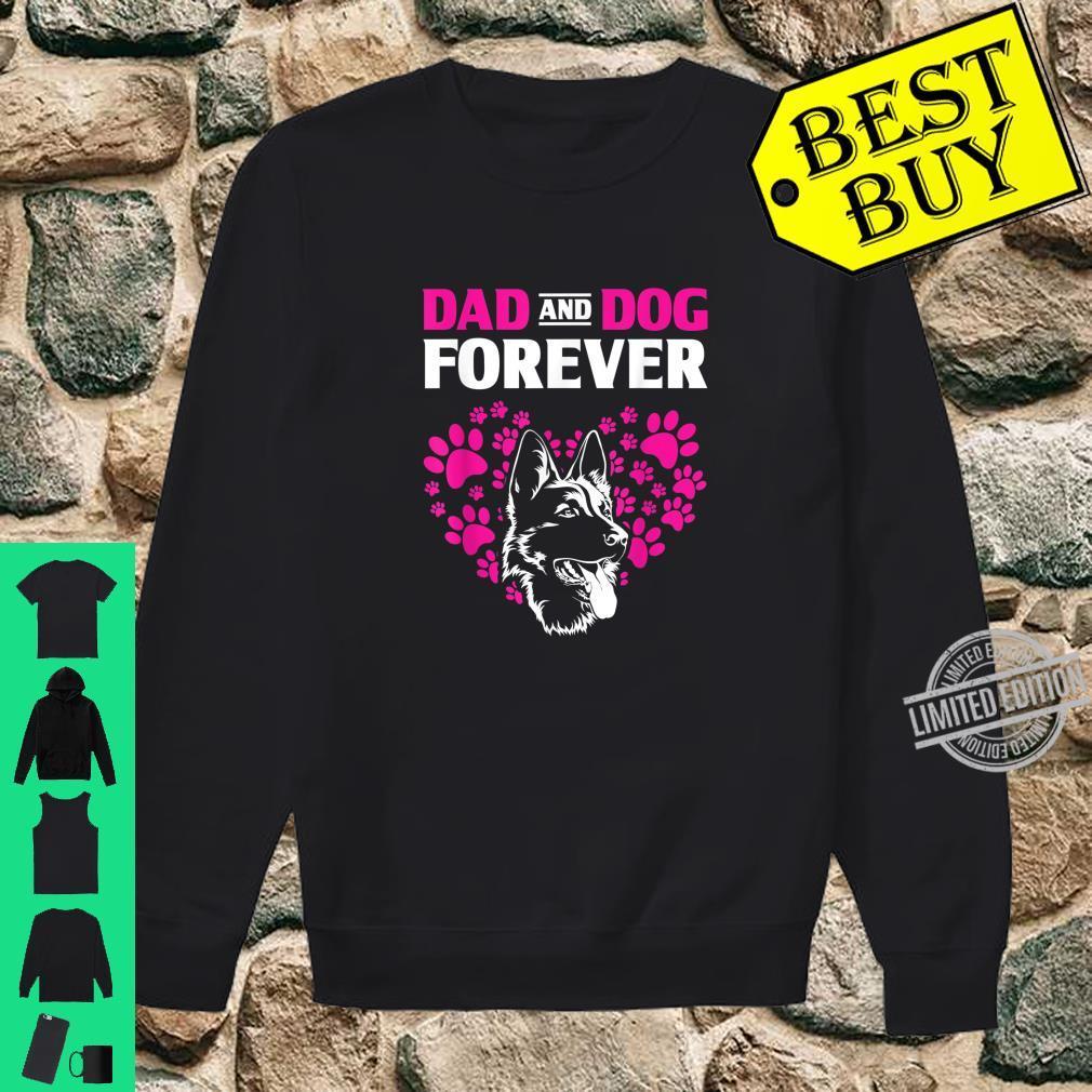 Dog Dad Forever German Shepherd Shirt sweater
