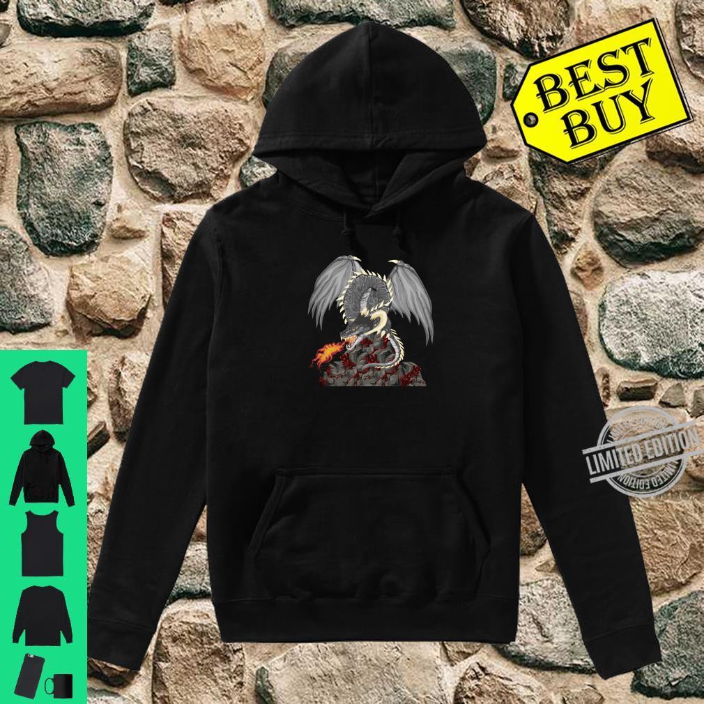 Dragonfire Awesome Dragon Novetly Medieval Fantasy Shirt hoodie