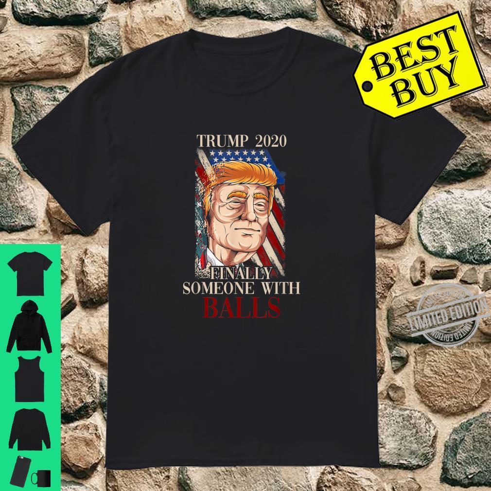 Election 2020 USA Flag GOP Republican Donald Trump Shirt