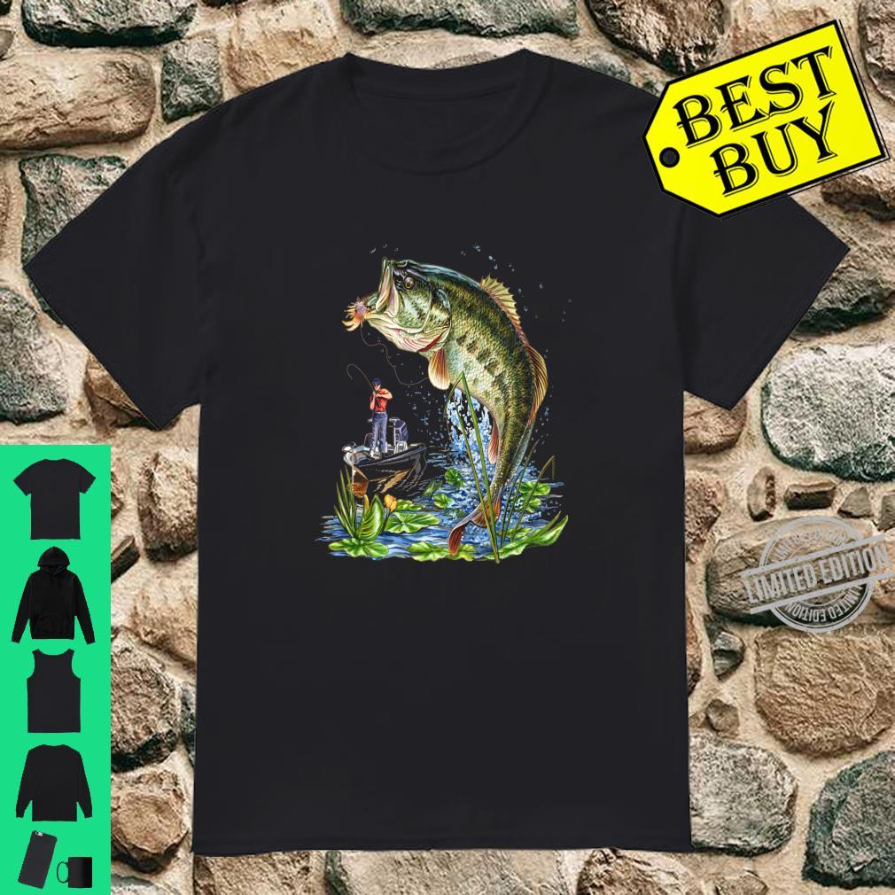 Fischen Fischer Boot Angeln Karpfen Shirt Shirt