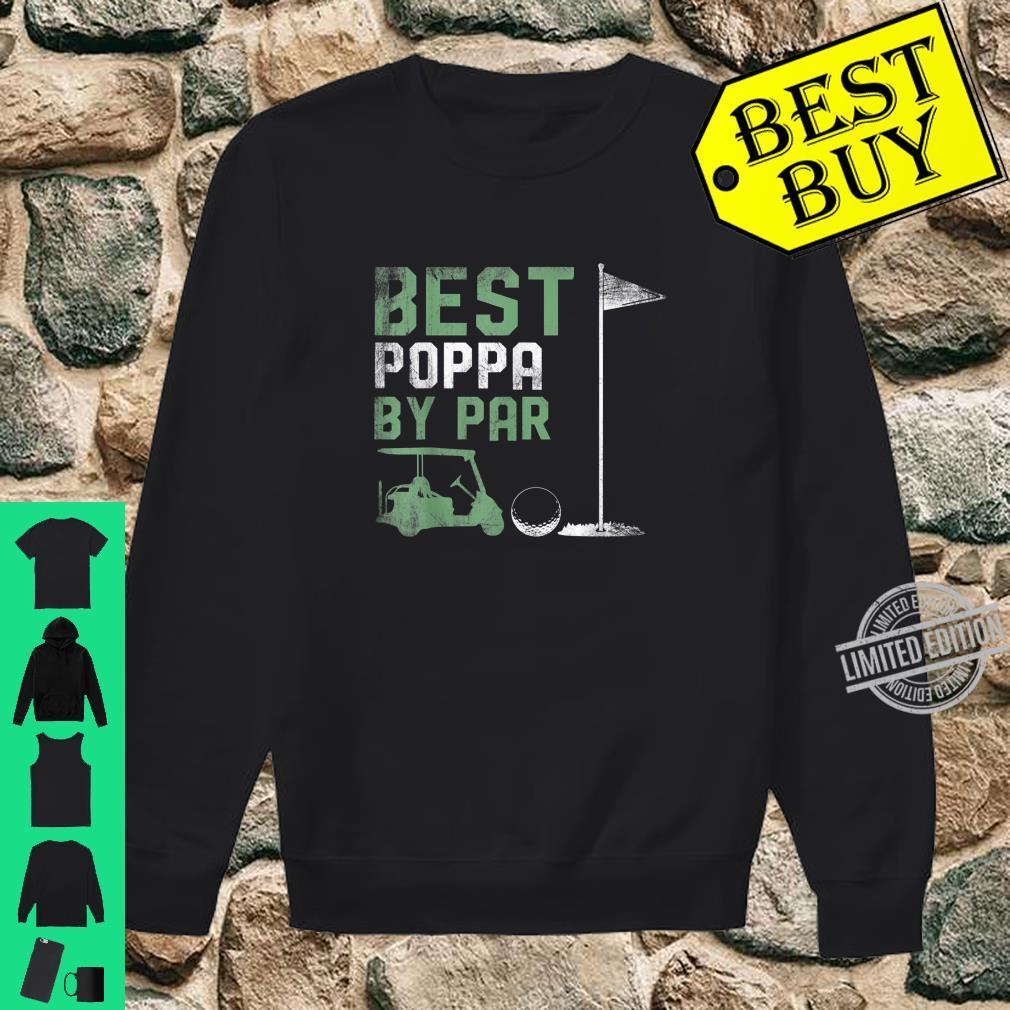 Funny Best Poppa By Par Father's Day Golf Shirt sweater