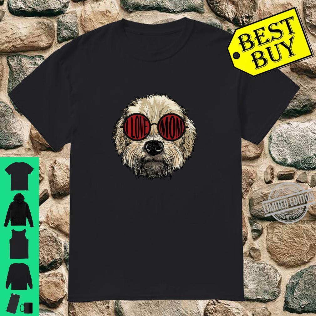 Funny Dog Wheaten Terrier I Love Mom Shirt