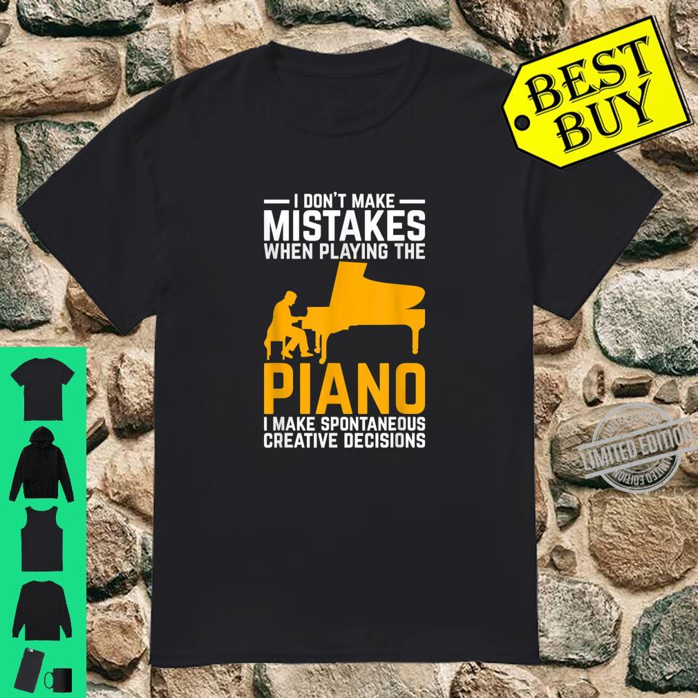 Funny Pianist Idea Classical Musical Instrument Piano Shirt