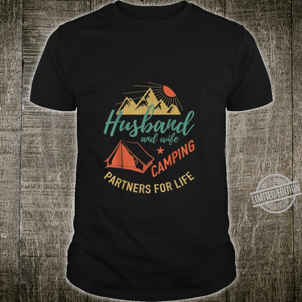 Husband and wife camping partners Camping Shirt