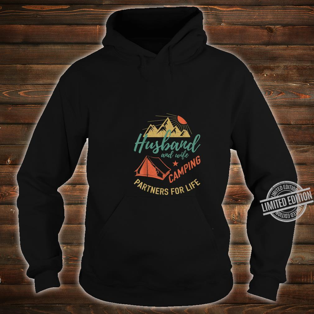 Husband and wife camping partners Camping Shirt hoodie