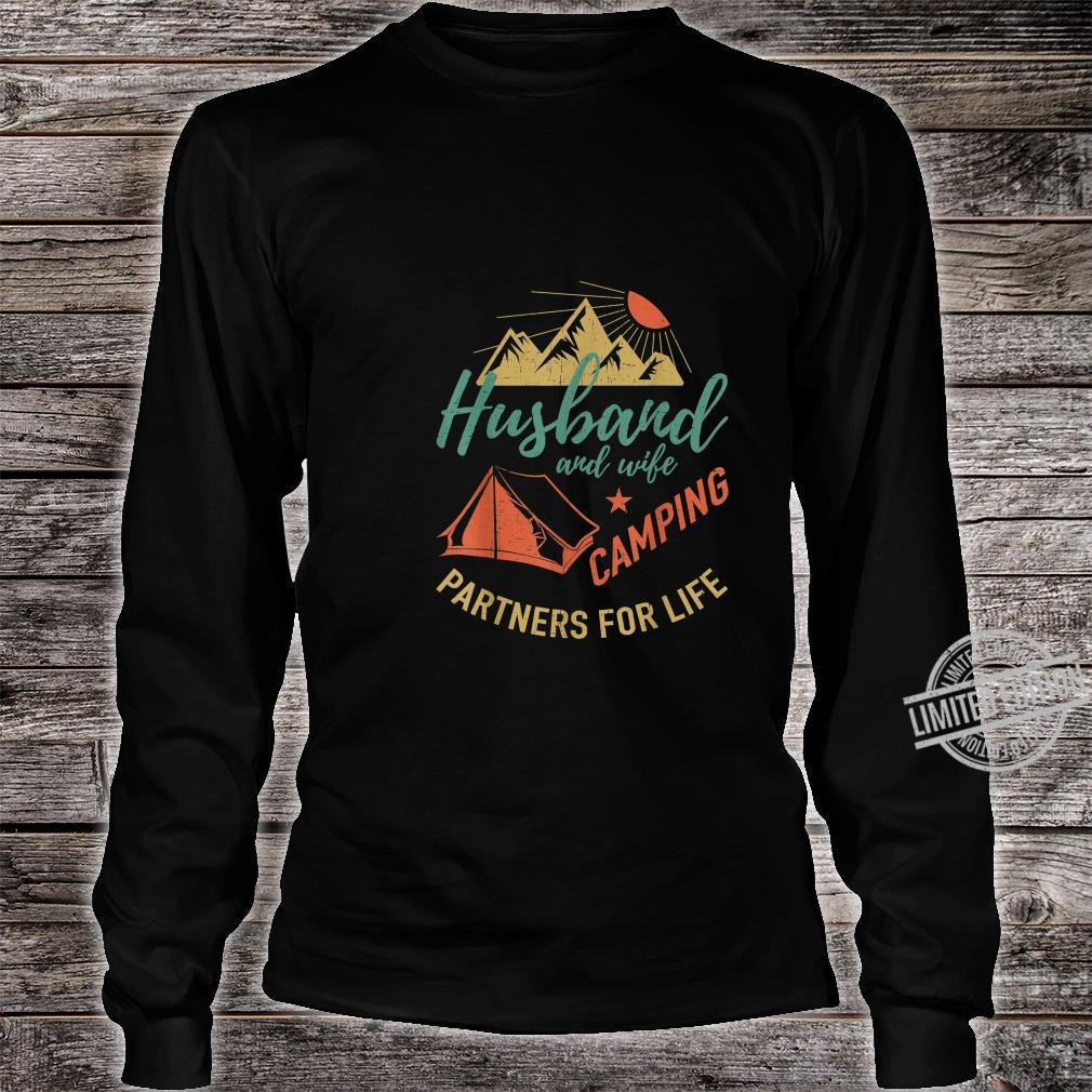 Husband and wife camping partners Camping Shirt long sleeved