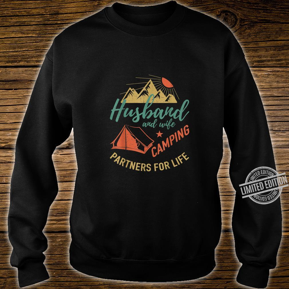 Husband and wife camping partners Camping Shirt sweater