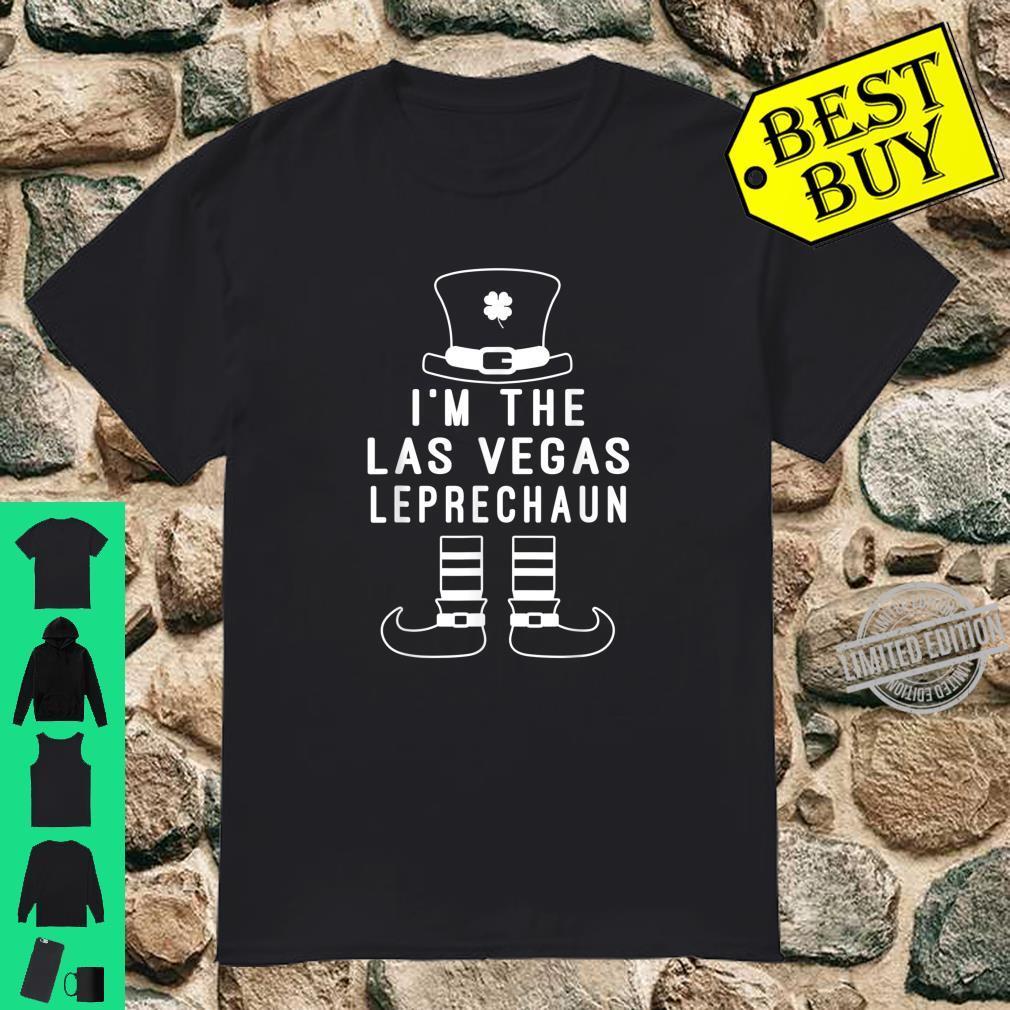 I'm The Las Vegas Leprechaun Green St Patricks Day Shirt