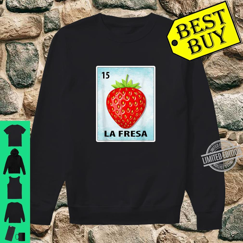 La Fresa Mexican Strawberry Cards Shirt sweater