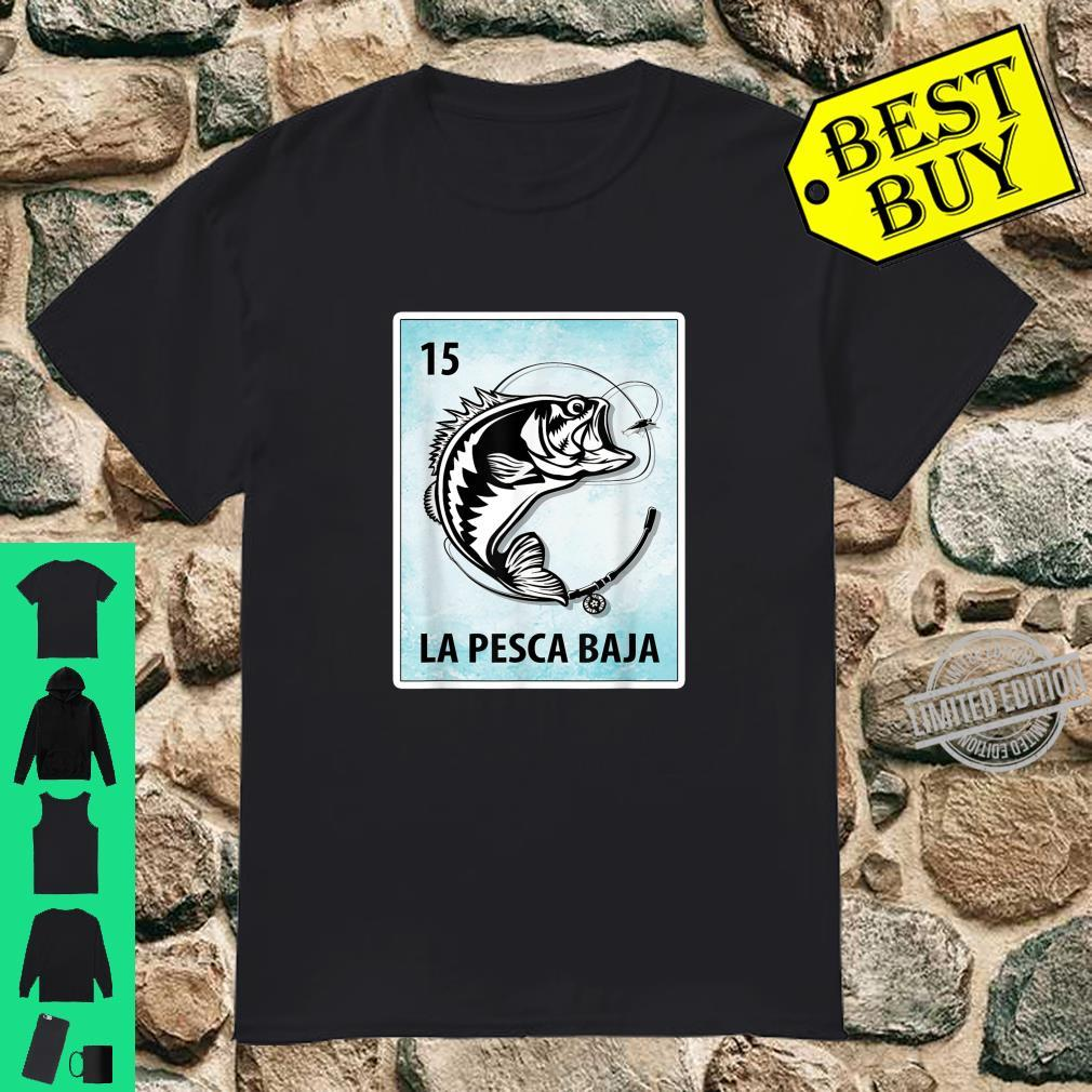 La Pesca Baja Mexican Bass Fishing Cards Shirt
