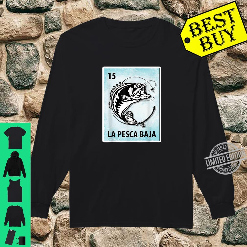 La Pesca Baja Mexican Bass Fishing Cards Shirt long sleeved
