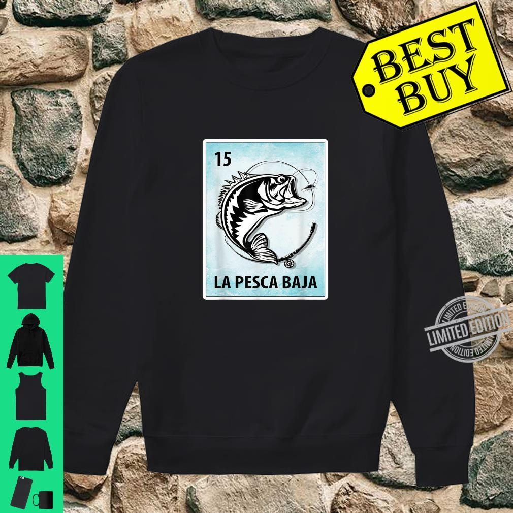La Pesca Baja Mexican Bass Fishing Cards Shirt sweater