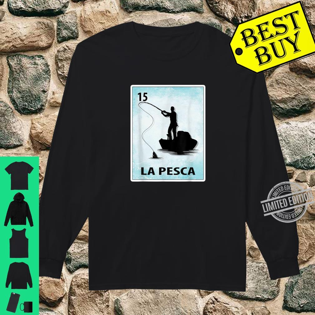 La Pesca Mexican Fishing Cards Shirt long sleeved