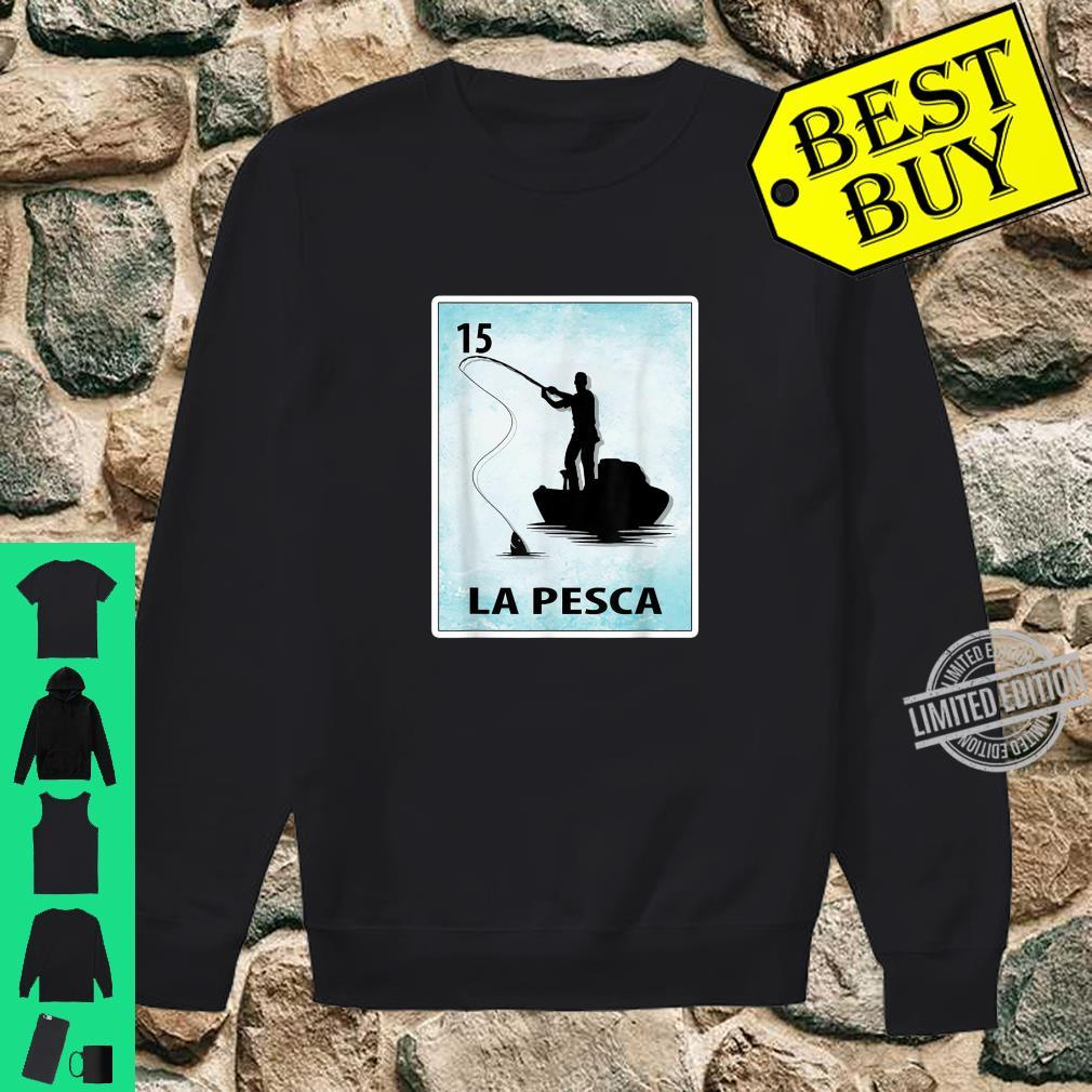 La Pesca Mexican Fishing Cards Shirt sweater
