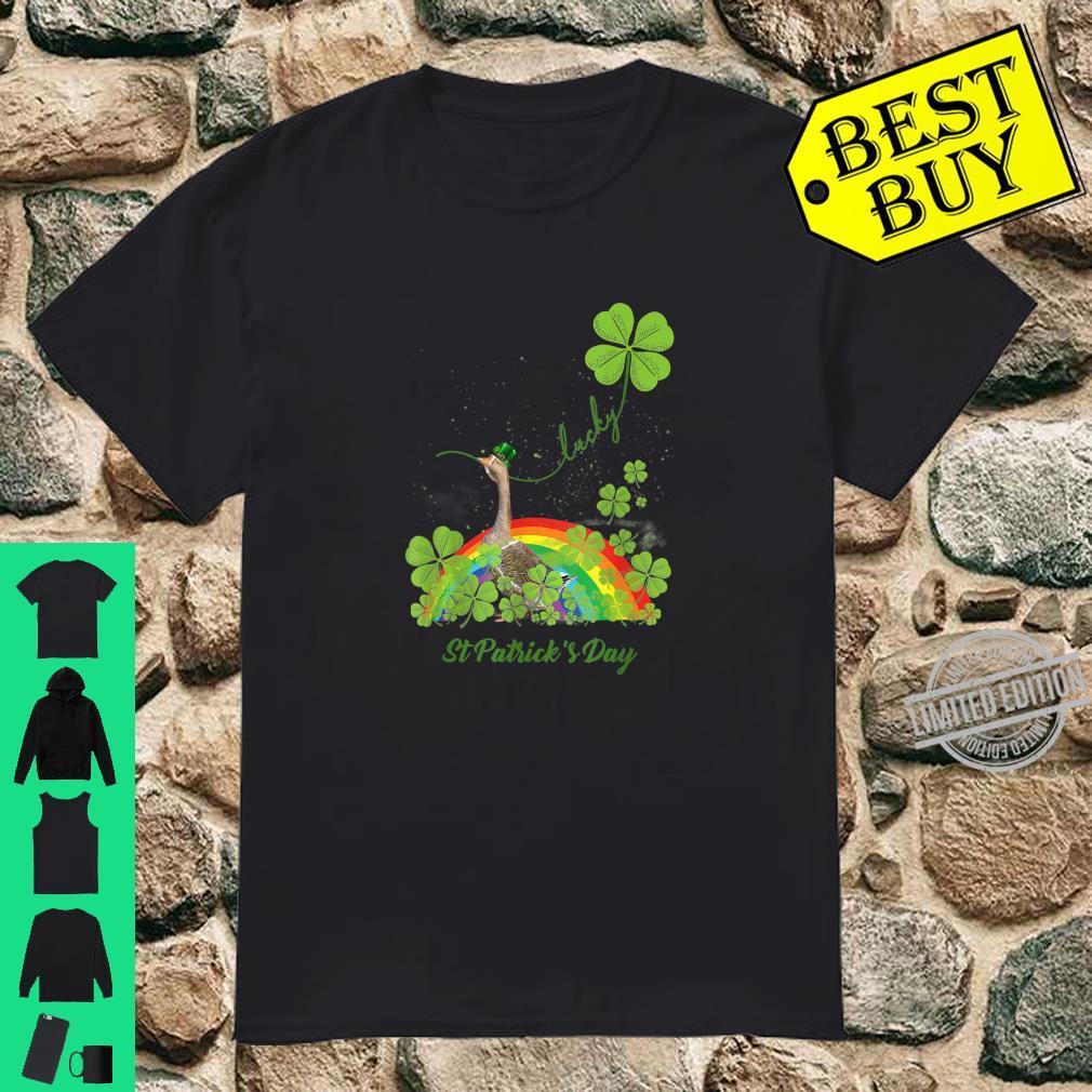 Lucky Goose Shamrock St Patrick's Day Shirt