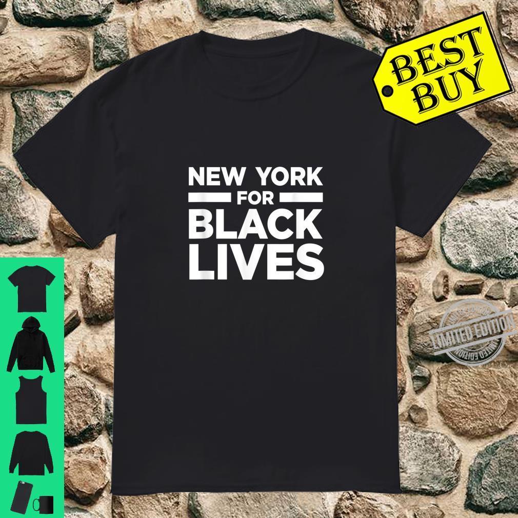 New York NYC Black Lives Matter BLM Anti Racism Racist Shirt
