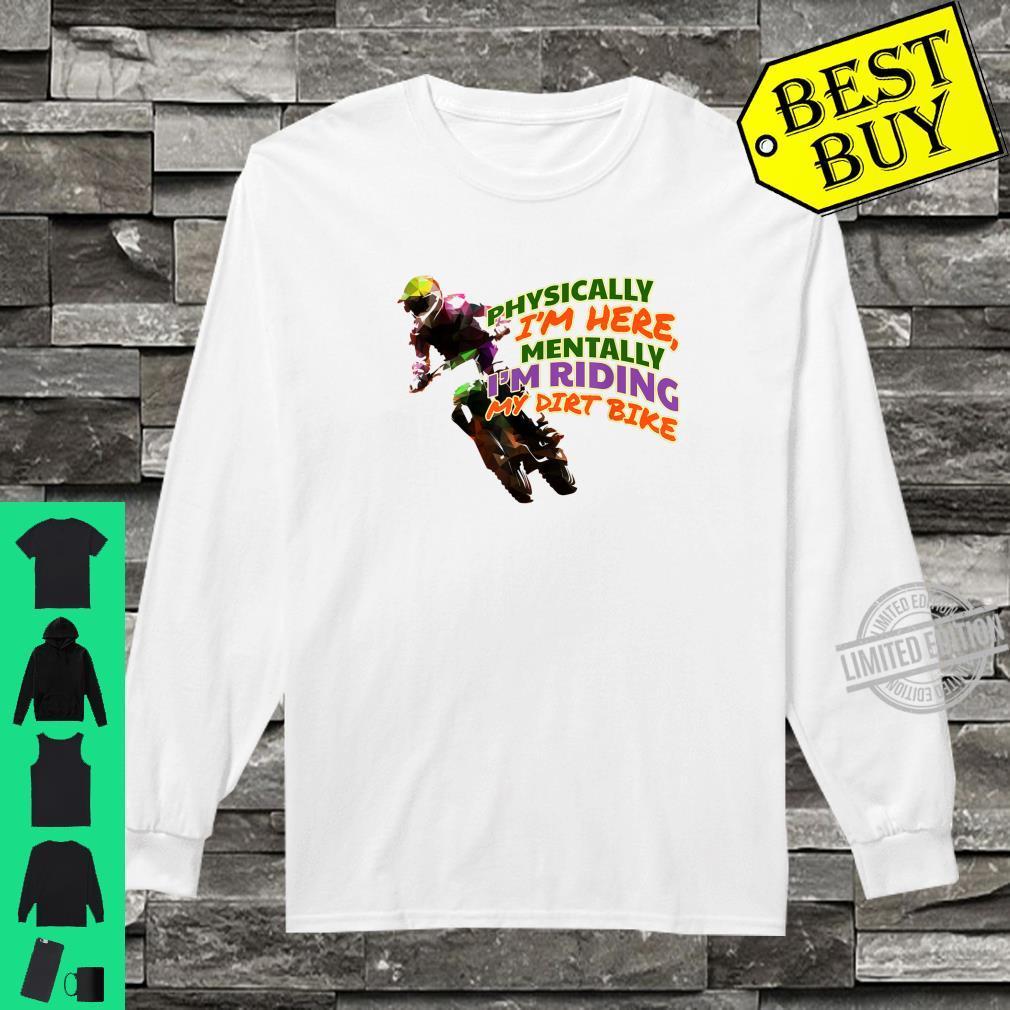 Hoodies Shirt Im Riding My Motocross Tee Shirt
