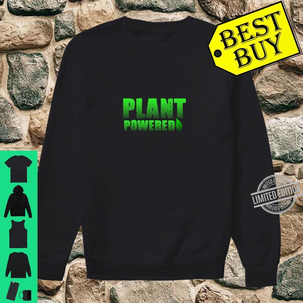Plant Powered, Vegetarian Vegan Gym Shirt sweater
