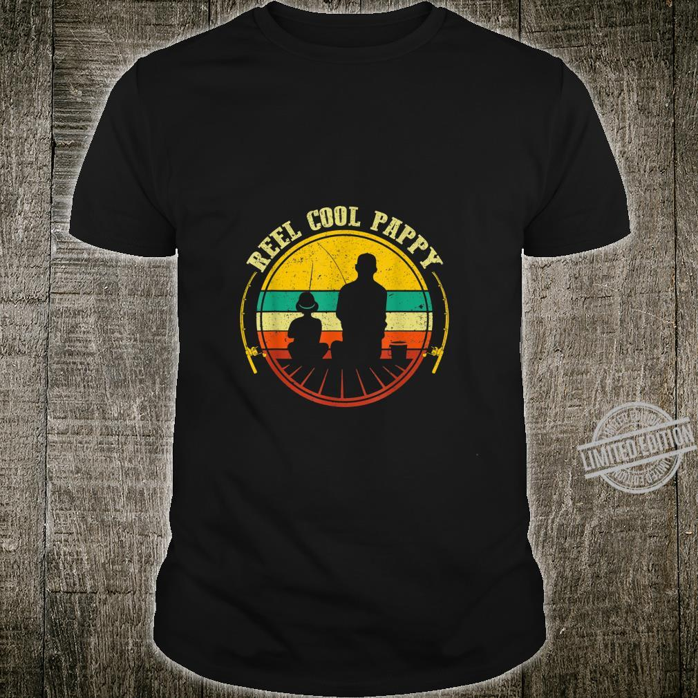 Reel Cool Pappy Fathers Day Fishing Shirt