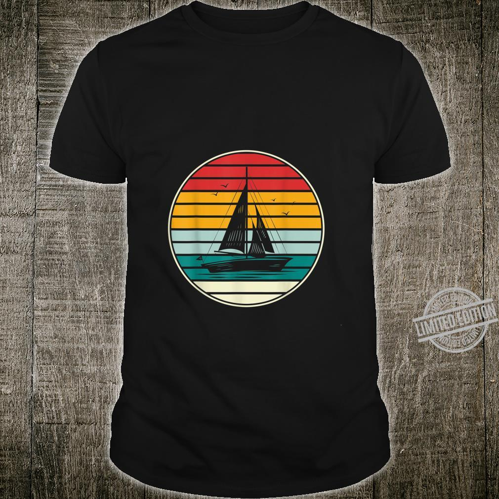 Sailing Boat Captain Lake Idea Hobby Sailing Shirt