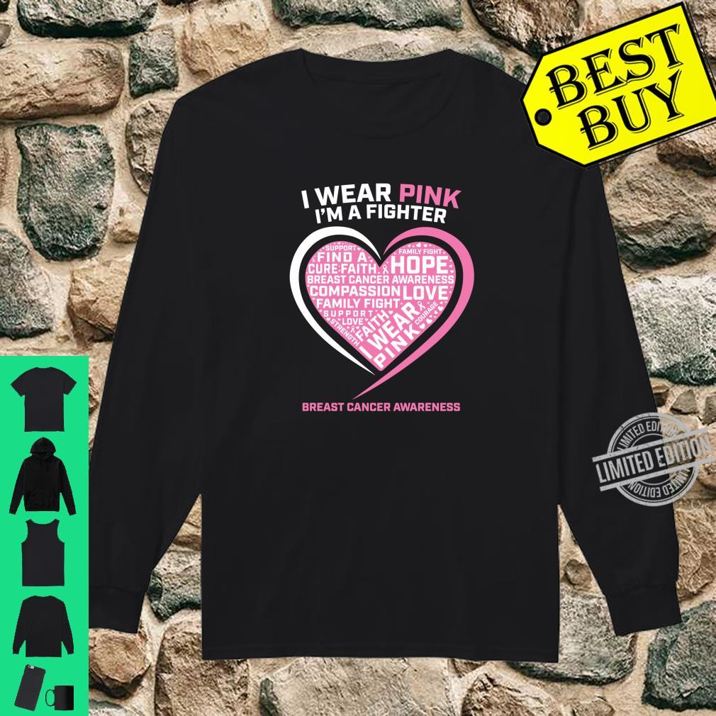 Fight Cancer Hoodie Pink Strength Support Awareness Family Hope Sweatshirt